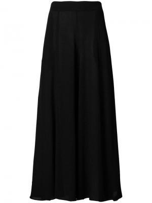 Длинная пляжная юбка Mara Hoffman. Цвет: черный