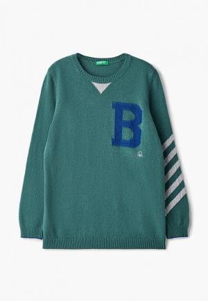 Джемпер United Colors of Benetton. Цвет: зеленый