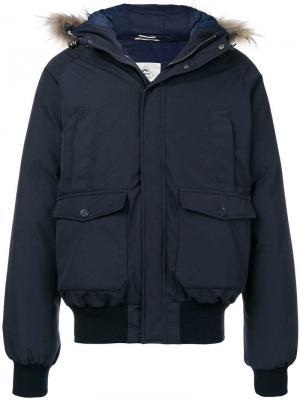 Padded parka coat Pyrenex. Цвет: синий