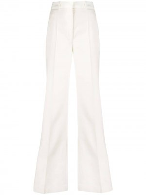 Расклешенные брюки с завышенной талией Joseph. Цвет: белый