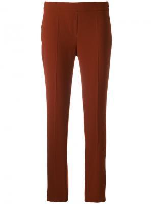 Узкие брюки D.Exterior. Цвет: желтый