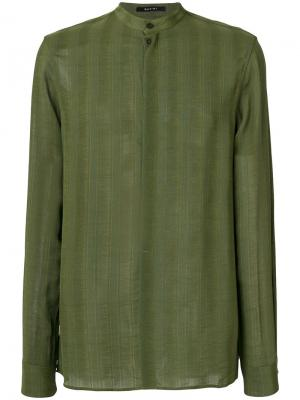 Рубашка Soweto Qasimi. Цвет: зелёный