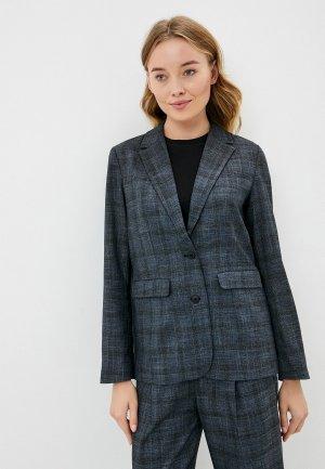 Пиджак UNQ. Цвет: серый