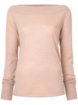 Трикотажный свитер Dion Lee. Цвет: нейтральные цвета