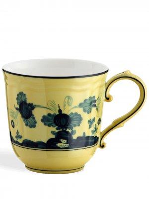 Кружка Oriente Italiano GINORI 1735. Цвет: желтый