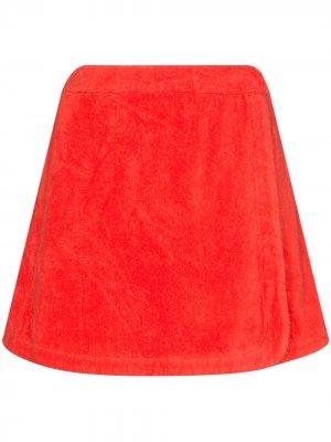 Мини-юбка Dolce Terry.. Цвет: красный