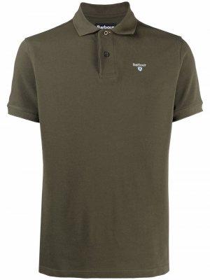 Рубашка поло Sports Barbour. Цвет: зеленый