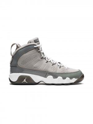 Кроссовки Air Jordan 9 Retro Kids. Цвет: серый