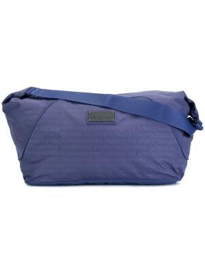 Большая спортивная сумка Adidas By Stella Mccartney. Цвет: синий