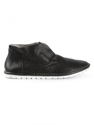 Ботинки-дезерты без шнуровки Marsèll. Цвет: черный