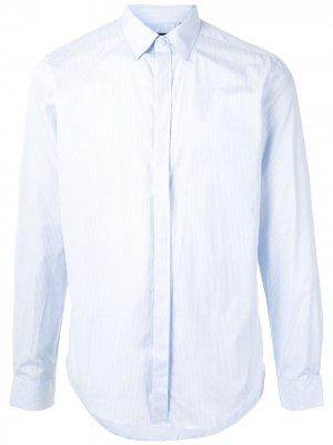 Durban полосатая рубашка с длинными рукавами D'urban. Цвет: синий