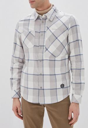 Рубашка Merrell. Цвет: серый