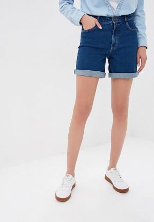 Шорты джинсовые Marks & Spencer. Цвет: синий