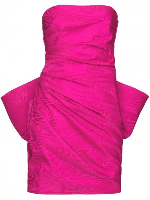 Платье мини Posie без бретелей Solace London. Цвет: розовый