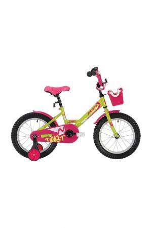 Велосипед NOVATRACK. Цвет: зеленый