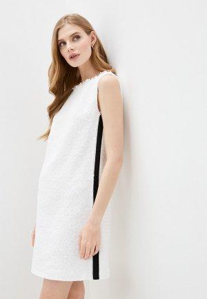 Платье Escada Sport. Цвет: белый