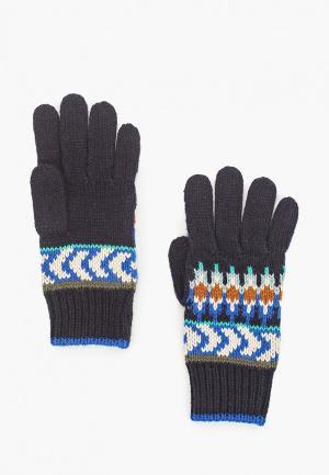 Перчатки Catimini. Цвет: синий