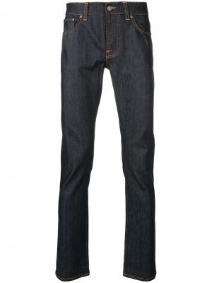 Джинсы Grim Tim Nudie Jeans Co. Цвет: синий