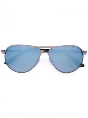 Солнцезащитные очки Marko pilot Tom Ford Eyewear. Цвет: металлик