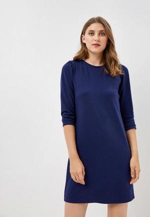 Платье Q/S designed by. Цвет: синий