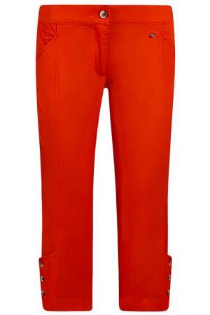 Брюки Finn Flare. Цвет: оранжевый
