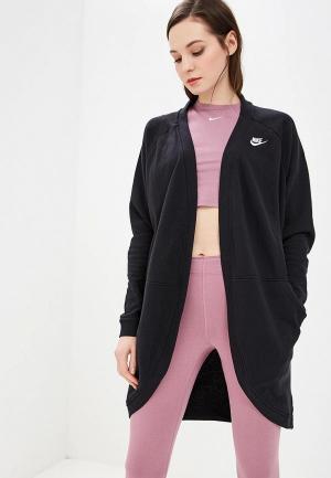 Кардиган Nike. Цвет: черный