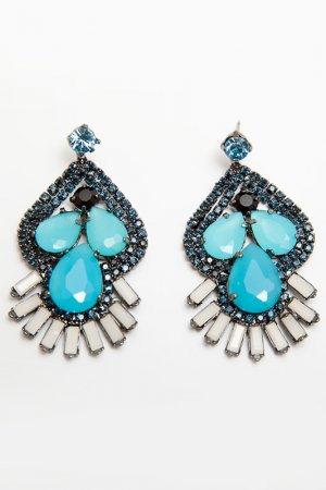 Серьги Asavi Jewel. Цвет: голубой
