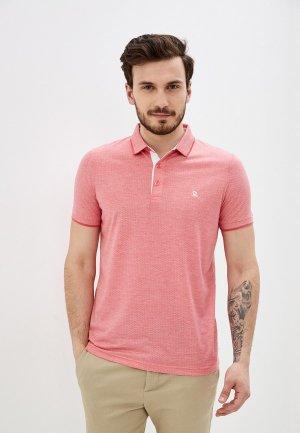 Поло Giorgio Di Mare. Цвет: розовый
