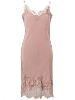 Платье-комбинация Coco Gold Hawk. Цвет: розовый