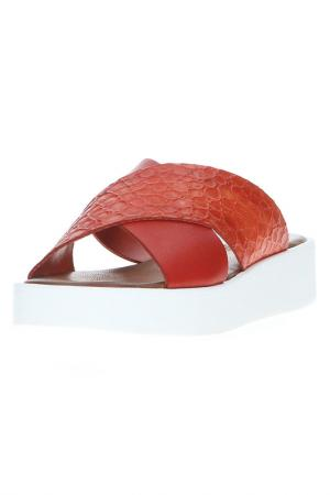 Сабо Nila&Nila. Цвет: красный