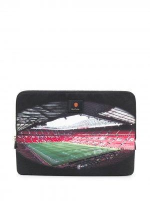 Чехол для ноутбука из коллаборации с Manchester United Paul Smith. Цвет: черный