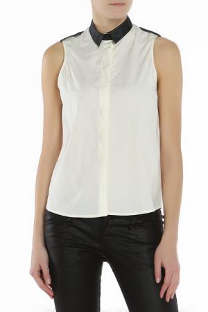 Блузка CNC Costume National C'N'C. Цвет: белый
