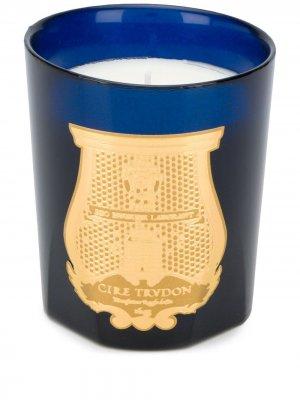 Свеча в стекле с логотипом Cire Trudon. Цвет: синий