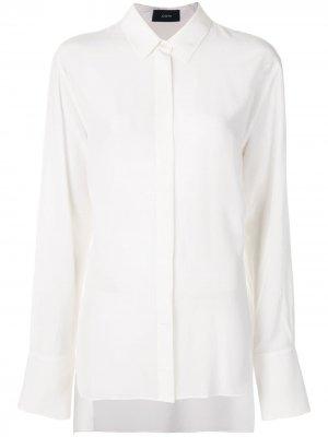 Рубашка с длинными рукавами Joseph. Цвет: белый