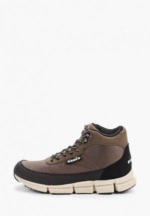 Ботинки Diadora. Цвет: коричневый