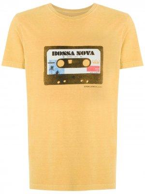 Stone Vintage Bossa Nova T-shirt Osklen. Цвет: желтый