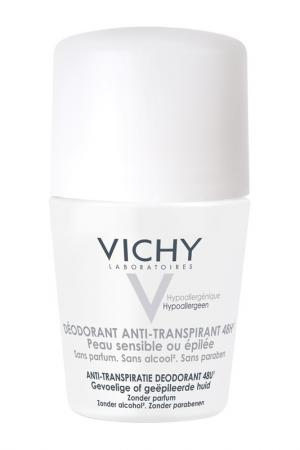 Дезодорант шариковый VICHY. Цвет: белый