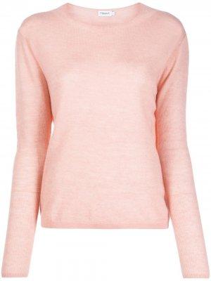 Джемпер Ines с круглым вырезом Filippa K. Цвет: розовый
