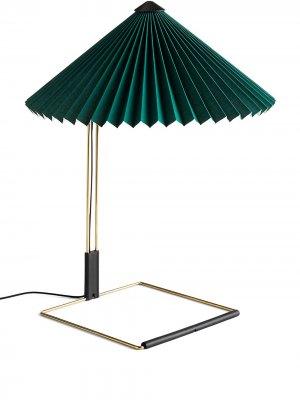 Настольная лампа Matin Hay. Цвет: зеленый