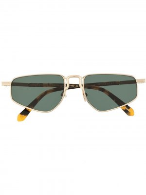 Солнцезащитные очки Selwin Karen Walker. Цвет: серебристый