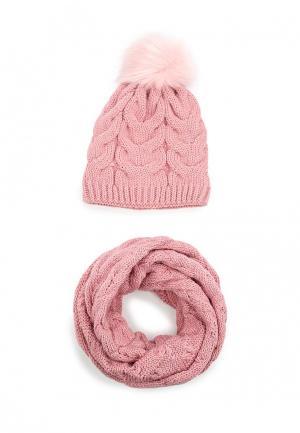Комплект Fete. Цвет: розовый