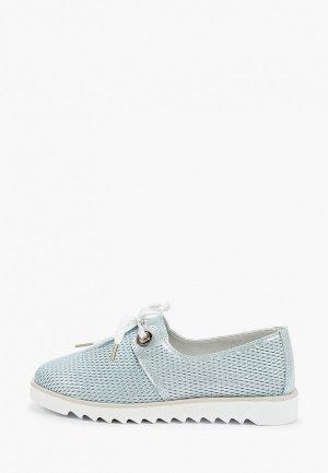 Ботинки La Grandezza. Цвет: голубой