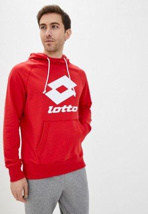 Худи Lotto. Цвет: красный