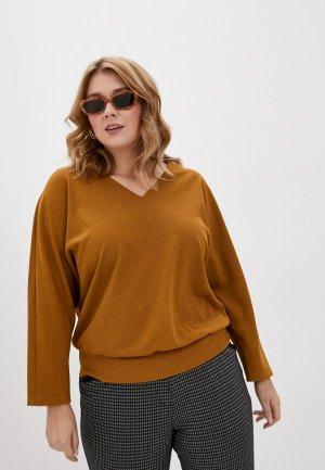 Пуловер Svesta. Цвет: желтый