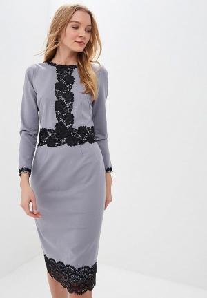 Платье MadaM T. Цвет: серый