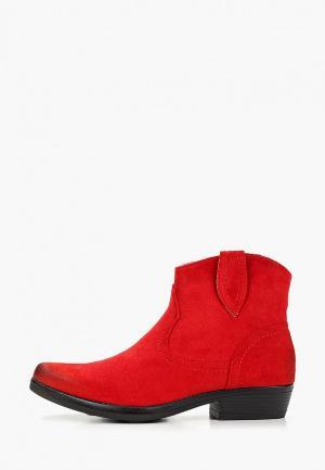 Ботинки Diamantique. Цвет: красный