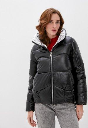 Куртка утепленная Elsi. Цвет: черный