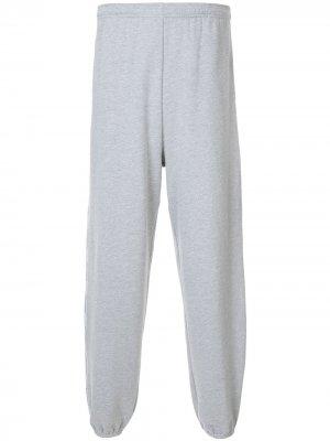 Спортивные брюки с логотипом Ground Zero. Цвет: серый
