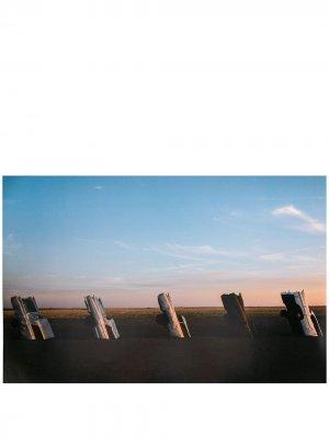Постер с принтом Acne Studios. Цвет: синий