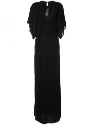 Long dress Costume National. Цвет: черный